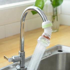 水龙头防溅水花洒过滤嘴可旋转伸缩万向喷头节水滤水器