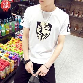 韩版男士T恤修身