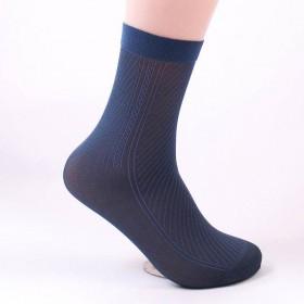 10袜子男士丝袜夏季薄款透气防臭中筒袜夏天男袜薄短
