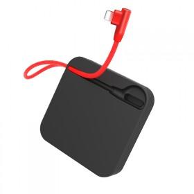 10000毫安自带线超薄迷你充电宝手机通用