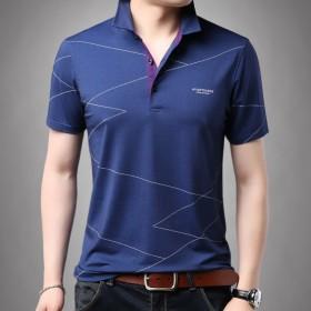 男装新款中青年男士短袖T恤