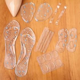 高跟鞋伴侣6件套 防滑鞋垫硅胶前掌垫防磨脚不跟脚
