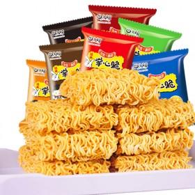 40包口味可选掌心脆干脆面方便面休闲零食