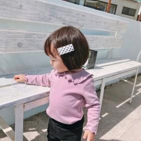 春款女宝宝t恤长袖上衣女童秋装婴儿打底衫女童T恤