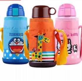 一杯三盖304不锈钢水杯多用儿童保温杯学生水杯水壶
