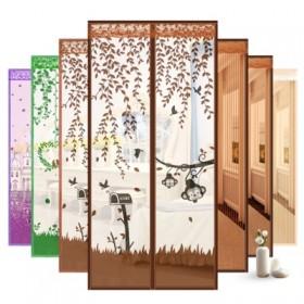 夏季防蚊门帘免打孔防蚊子苍蝇帘子通风纱窗多尺寸可选