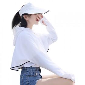 夏季新款太阳帽防紫外线防晒服披肩