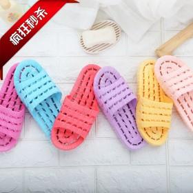 夏季新款家居拖鞋 洞洞洗澡漏水鞋 防滑拖鞋