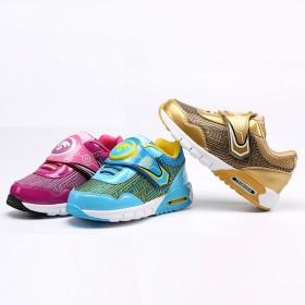 男女儿童运动鞋童鞋春秋款童鞋透气镂空休闲网跑鞋