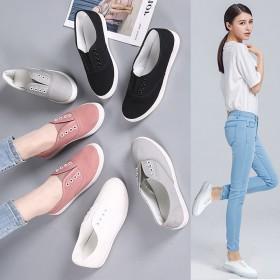 2019新款小白鞋懒人鞋