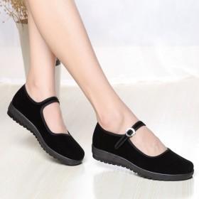 经典布鞋老北京升级版女鞋