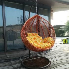 吊篮吊椅吊床秋千摇椅鸟巢藤椅加固加粗吊椅5色可选