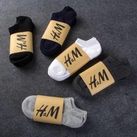 10双装袜子男短袜春夏季吸汗男士船袜低帮浅口薄款隐