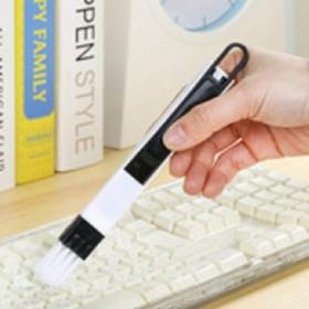 电脑键盘小刷子创意沟槽门窗缝隙刷 厨卫凹槽清洁工具