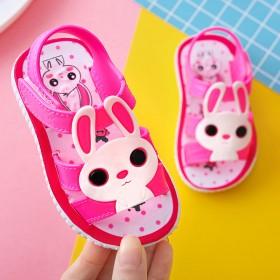 女童凉鞋夏季可爱兔子女宝宝凉鞋
