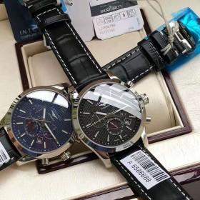 浪琴康铂系列机械男表 进口球型蓝宝石玻璃镜面手表