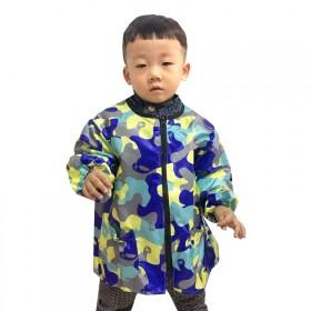 宝宝儿童吃饭罩衣绘画长袖男女孩围兜正穿微防水儿童围