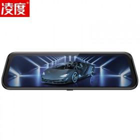 凌度A900全屏流媒体双镜头无光夜视行车记录仪