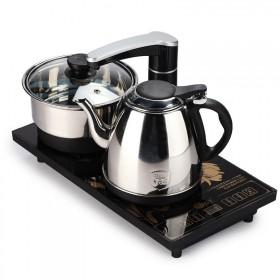 电热水壶三合一自动上水食品级不锈钢烧水壶抽水电茶炉
