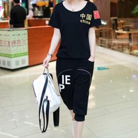 大码女装新款夏装韩版休闲运动女装