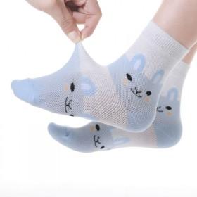 5双装 儿童袜子春秋季婴儿薄款男童棉袜童袜女童春夏