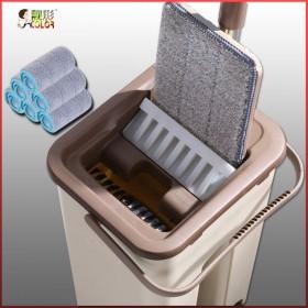 6块布送赠品拖把桶免手洗平板拖把刮洗家用懒人拖布