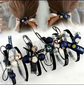 头绳韩国小清新发绳森女系简约发圈头饰扎头发橡皮筋发