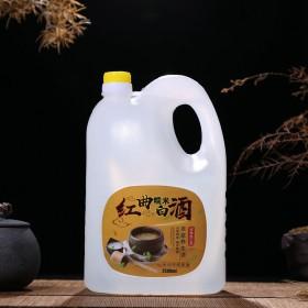 養生白酒農家自釀5斤裝泡酒專用52度原漿紅曲糯米酒