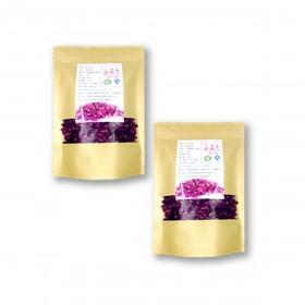 平阴重瓣玫瑰花瓣食用级纯天然做糕点面膜酵素花茶