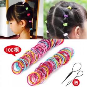 儿童橡皮筋不伤发圈宝宝头绳韩版彩色可爱小女孩发夹发