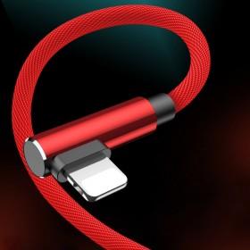 新款双弯头快充苹果数据线安卓手机快充电线
