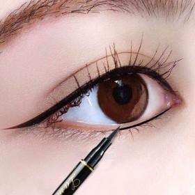 拉美拉眼线液笔女黑色极细持久伪素颜定妆防水防汗不易