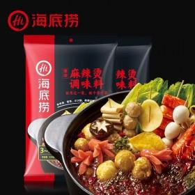 【2袋】海底捞麻辣烫火锅底料调味料香辣冒菜220g