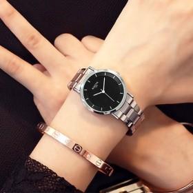 网红韩版时尚简约潮流手表男士学生防水情侣手表女手表