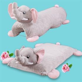 进口儿童乳胶枕 可变形两用抱枕