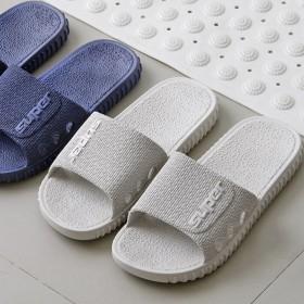 邂新品家用室内软底拖鞋浴室洗澡鞋防滑拖鞋冲凉鞋男女