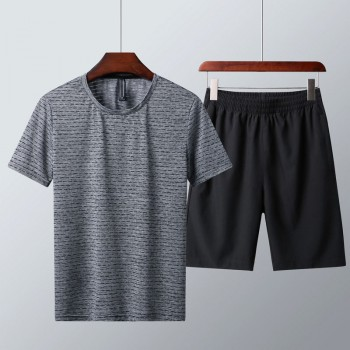 夏季速干弹性透气短袖套装限量