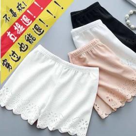 3条装防走光安全裤女士三分打底裤女学生短可外穿夏季