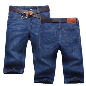 夏季牛仔短裤男士五分裤牛仔中裤子