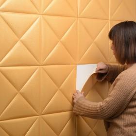 仿皮革软包墙贴30厘米一张