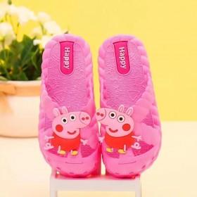 儿童凉拖鞋夏洞洞鞋室内居家拖鞋软底防滑女宝宝沙滩鞋