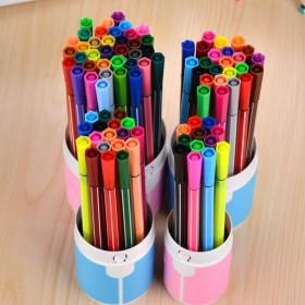 (24色水彩笔)热销新款韩国学生可水洗水彩笔套装