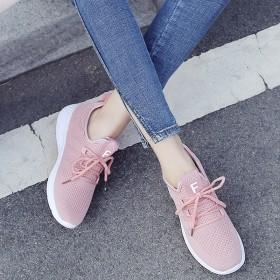 女童鞋子2019年春夏网面透气休闲运动鞋
