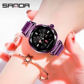 智能手环触摸彩屏女性生理女学生手表健康运动监测腕表