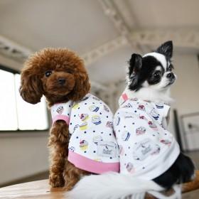 RADICA小型犬幼犬夏装 比熊博美雪纳瑞小型幼犬