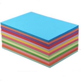 100张彩色纸彩色打印纸A4彩色打印复印纸70g彩