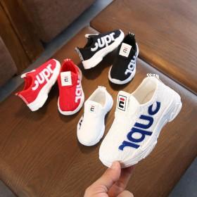童鞋1-3-5岁半儿童网面透气运动休闲鞋 男女童软
