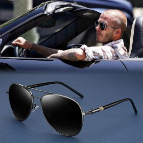 太阳镜男眼镜男士驾驶偏光镜眼睛蛤蟆镜开车司机镜墨镜