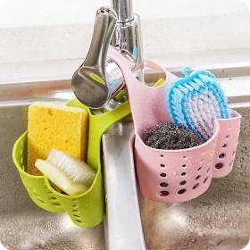 厨房沥水挂袋置物架水槽收纳挂篮