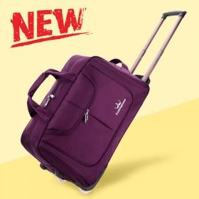 拉杆包女大容量行李包男可登机手提旅行袋折叠防水超轻